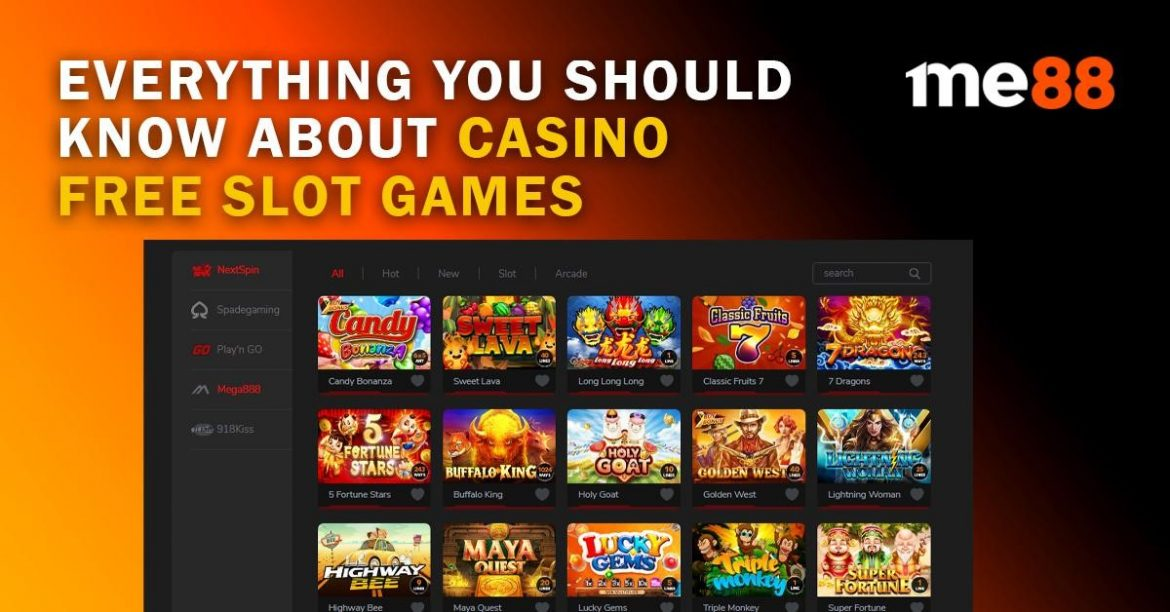 Everything You Should Know About Casino Free Slot Games